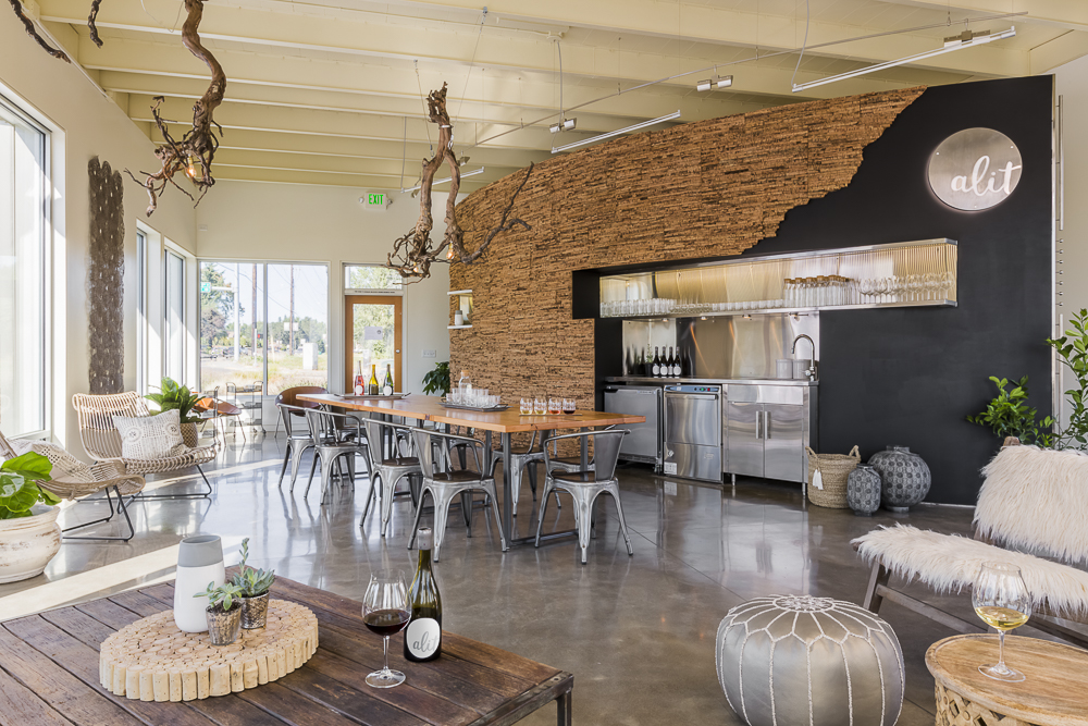 Alit Wines Tasting Room